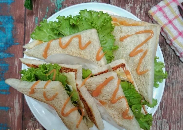 Resep Sandwich Telur Dadar