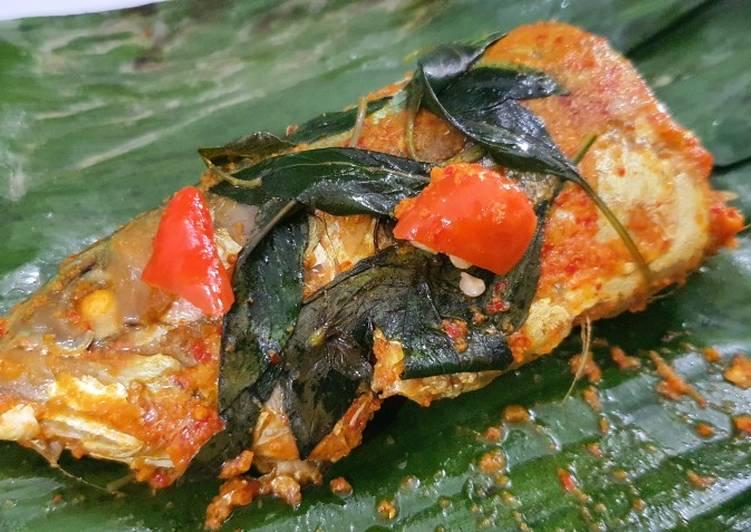 Resep Pepes Pedas Ikan Kembung