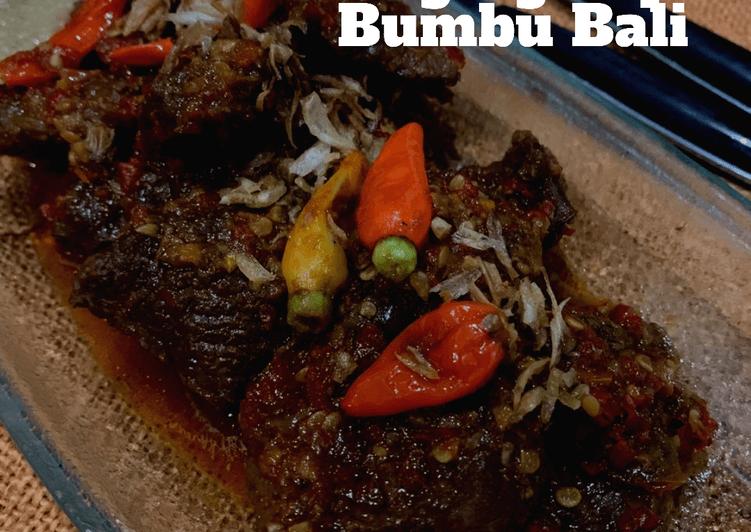 Resep Daging Sapi Bumbu Bali