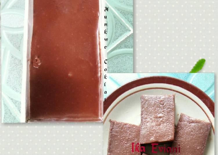 Resep Puding Hunkwe Coklat