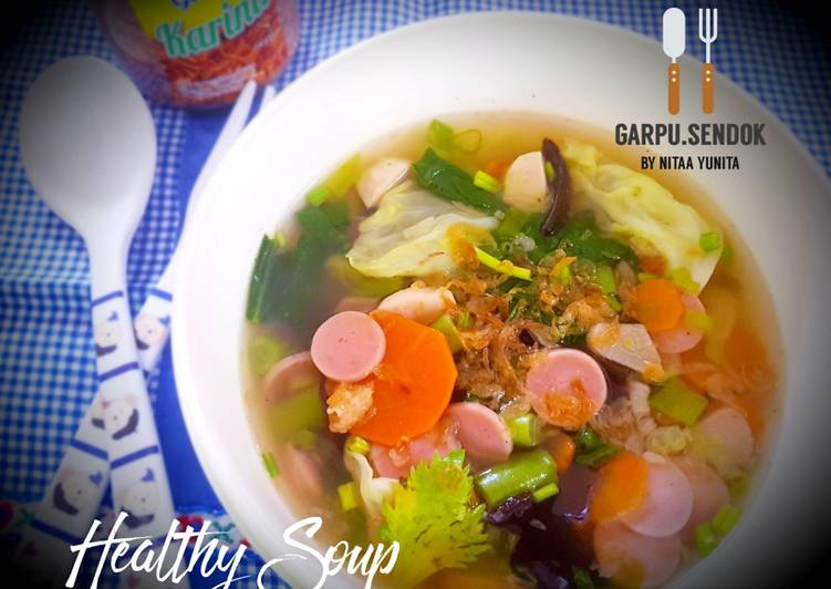Resep Healthy Soup
