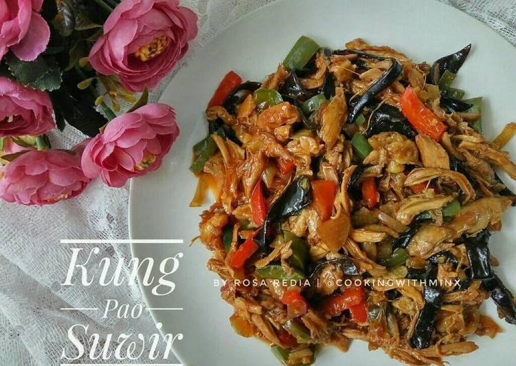 Resep Ayam Kung Pao Suwir