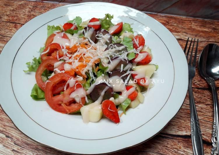 Resep Mix Salad #SaladAction