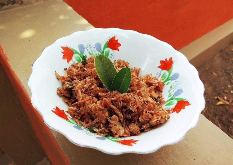Resep Udang Rebon Cabe Garam