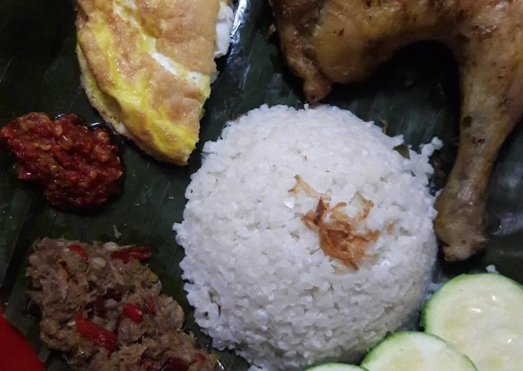 Resep Nasi Uduk Kembang Kol Instant (keto friendly)
