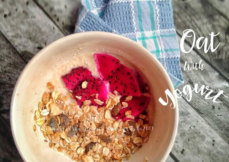 Resep Oat with Yogurt