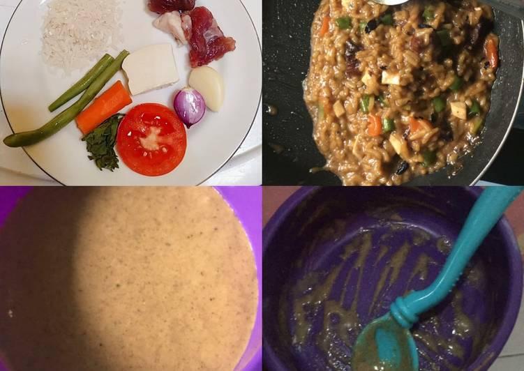 Resep MPASI menu Daging Sapi, Wortel, Buncis