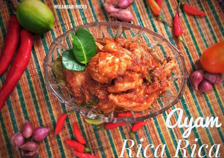 Resep Ayam Rica Rica Khas Manado