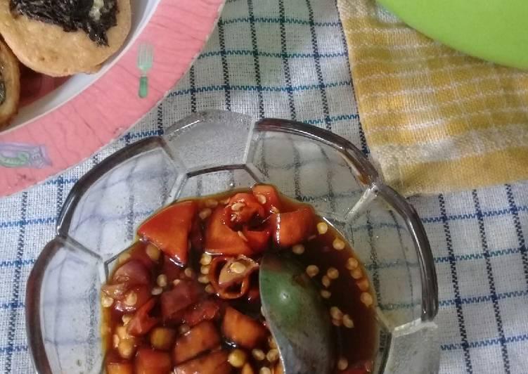 Resep Sambel kecap ala Chinese recipe
