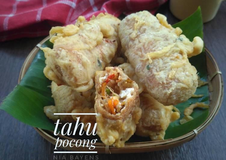 Resep Tahu pocong (#pr_cemilanjamannow)