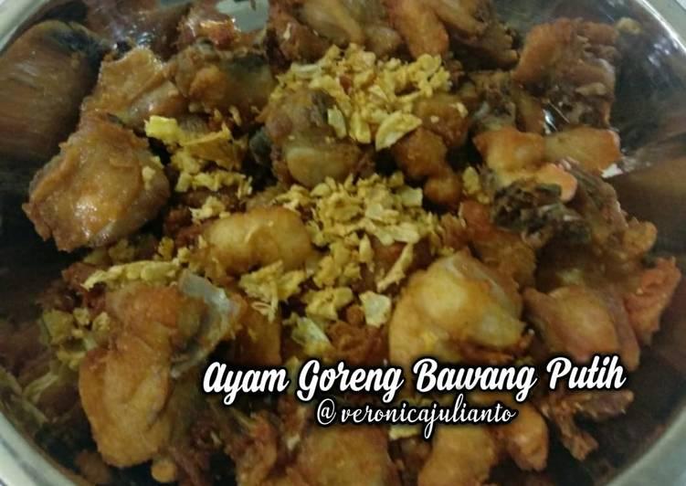 Resep Ayam goreng bawang putih