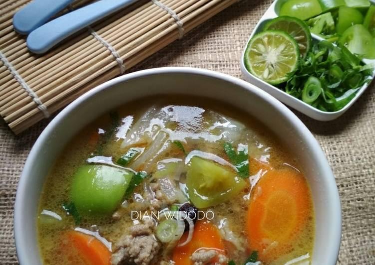 Resep Sup Daging Giling