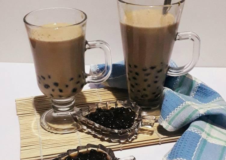 Resep Boba Milk Nescafe