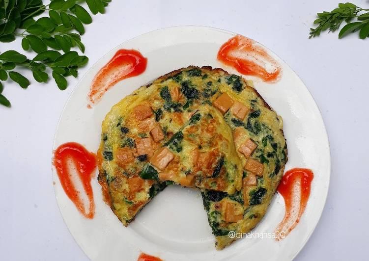 Resep Omelet Kelor Keju