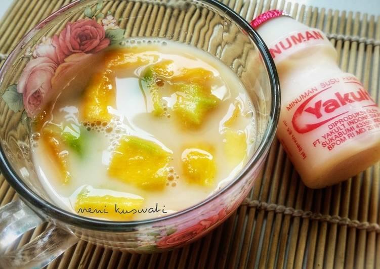 Resep Mikult (Minuman Yakult) Mangga