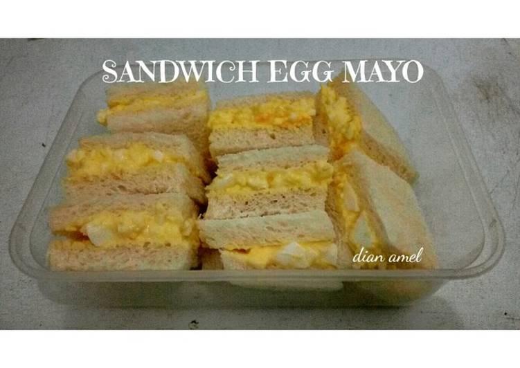 Resep Sandwich Egg Mayo