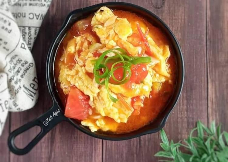 Inspirasi Resep Orak Arik Telur Saus Tomat Lezat