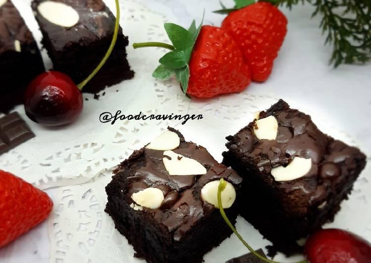 Resep Brownies Chewy