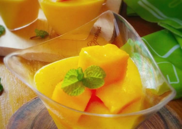 Resep Mango Custard