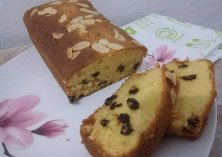 Resep Raisin butter cake