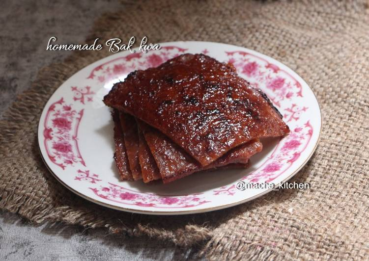 Resep Homemade Bak Kwa