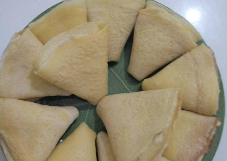 Resep Panekuk vla Cream Cheese