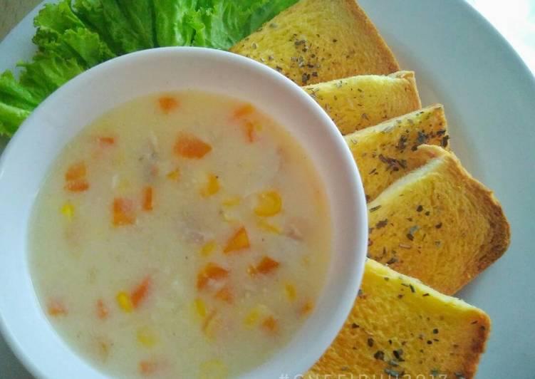 Resep Sup Krim Sederhana