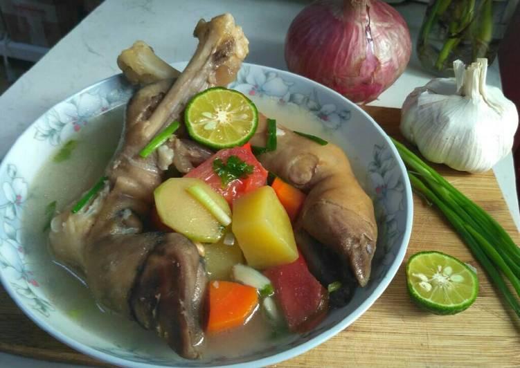 Resep Sup Kaki Kambing