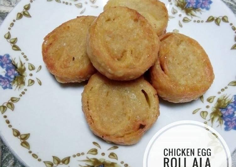 Resep Chicken Egg Roll (Ala Hokben)