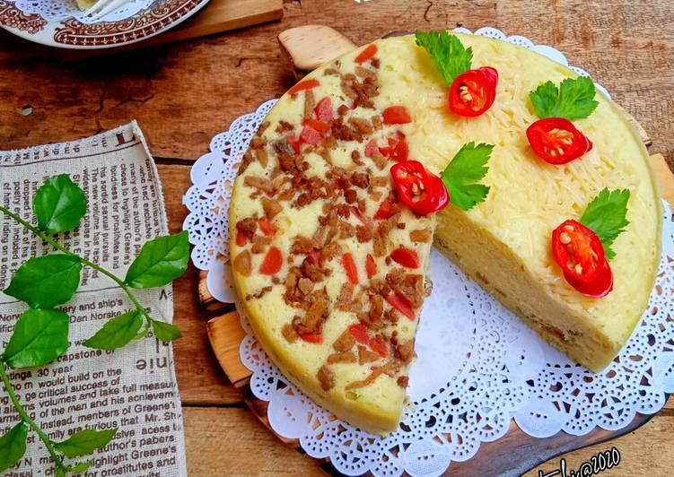 Resep Meat Steam Cake / Kue Daging Sapi Kukus