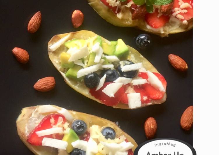 Resep Sweet canape