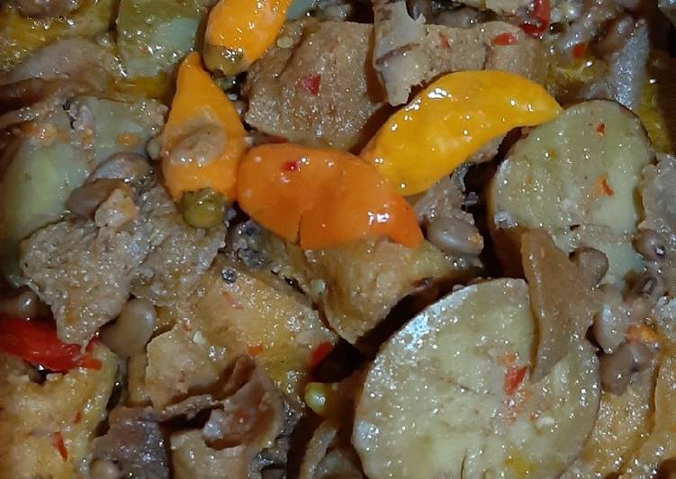 Resep Sayur Jengkol Tahu Krecek Kacang Tolo