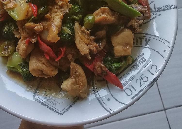 Resep Ayam Saos Lada Hitam