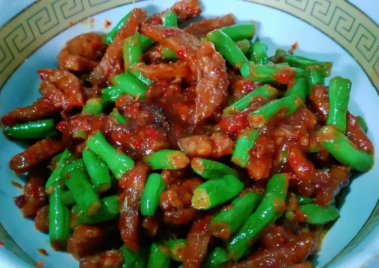 Resep Tempe sayur buncis