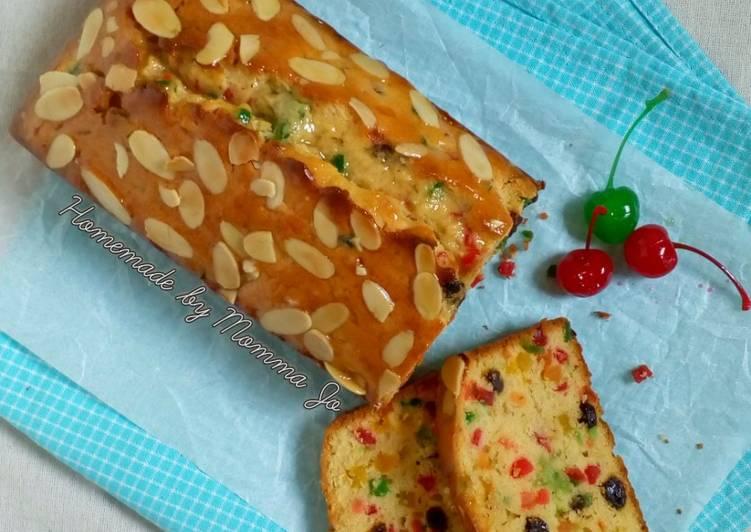 Resep (Lemon) Fruit Cake
