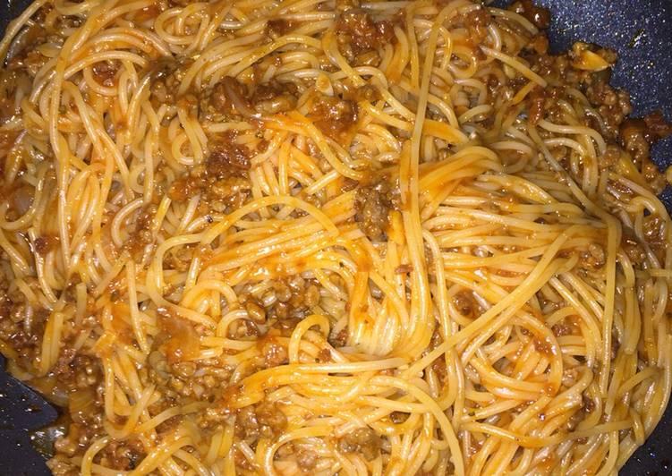 Resep Spagetti Bolognese Daging Cincang