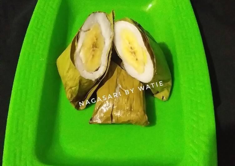 Resep Nagasari pisang