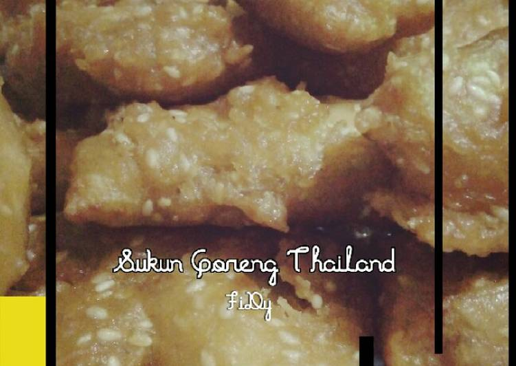 Resep Sukun Goreng Thailand