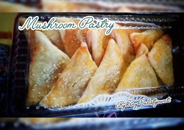 Resep Mushroom Pastry