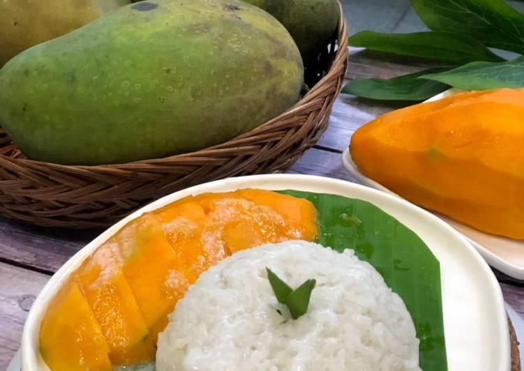 Resep Thai Mango Sticky Rice ala Tiger Kitchen