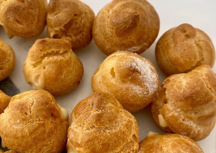 Resep Choux puffs