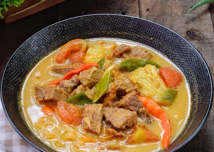 Resep Tongseng daging sapi #kitaberbagi