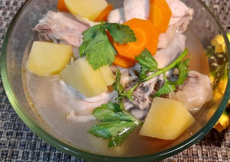 Resep Sop Ayam Jahe