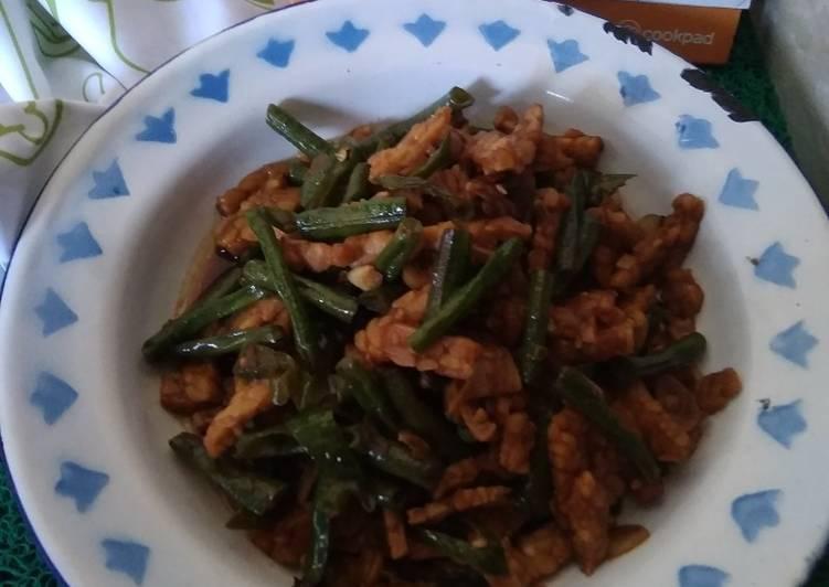 Resep Tumis Tempe Kacang Panjang Cabai Hijau