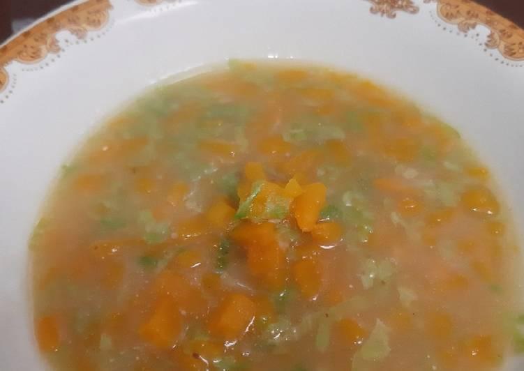Resep Soup Labu MPASI 1th