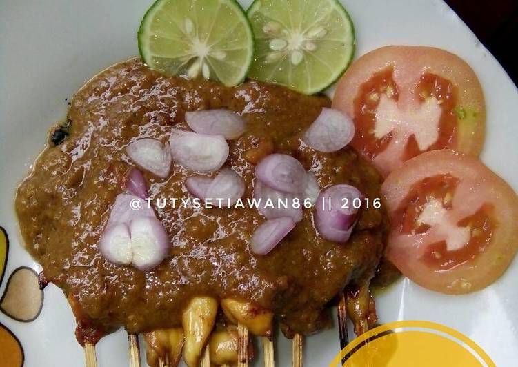 Resep Sate Ayam Bumbu Kacang