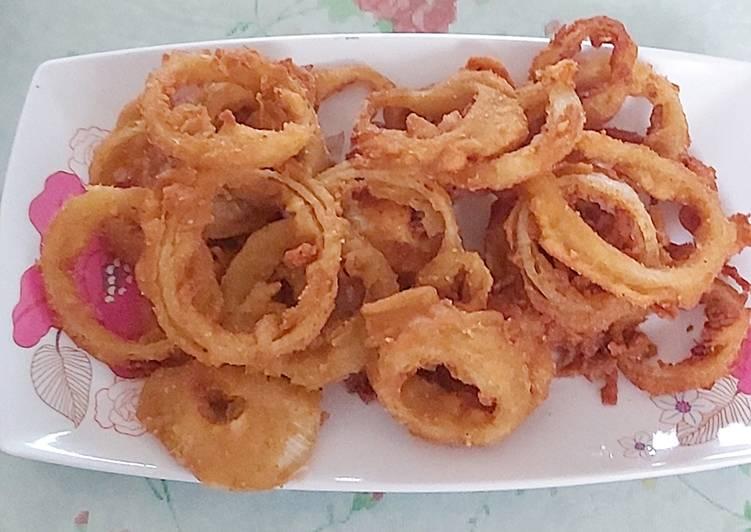 Resep Onion Rings Crispy