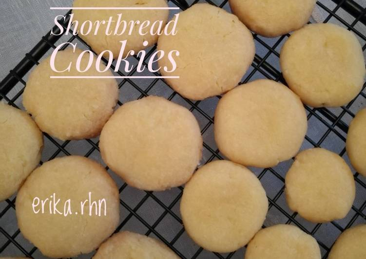 Resep Shortbread Cookies (gluten free, egg free)
