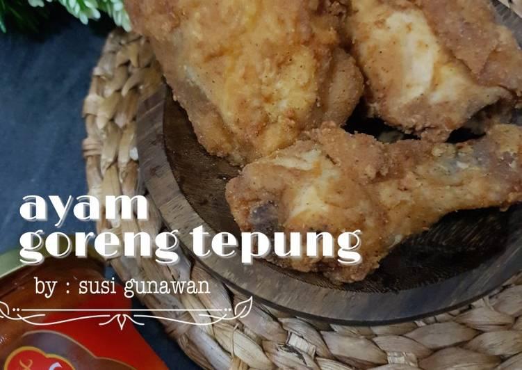 Resep Ayam Goreng Tepung