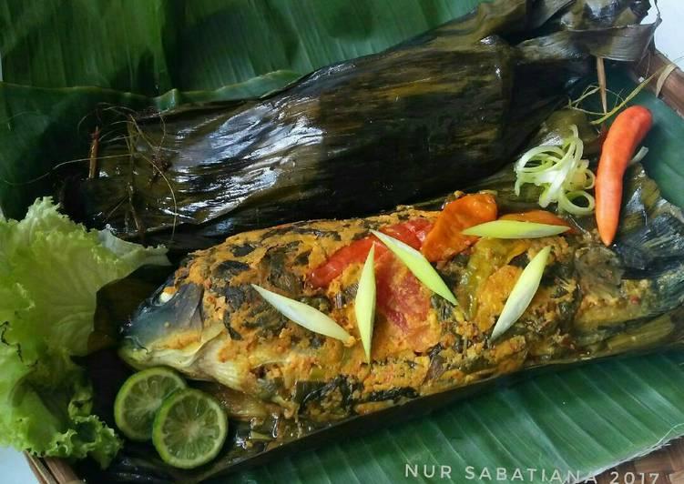Resep Pepes Ikan Mas Duri Lunak #pr_masakanbungkusdaun